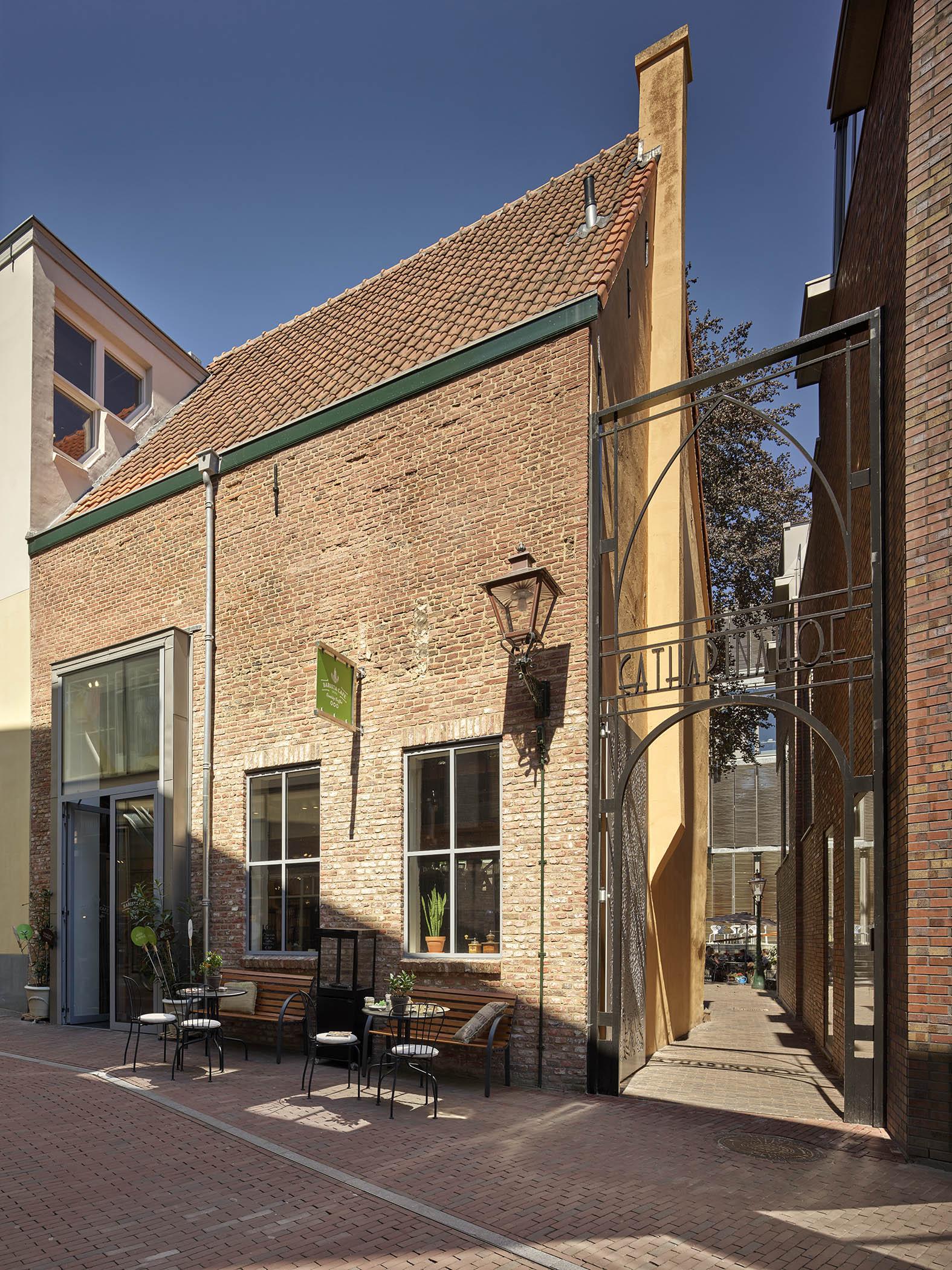 Catharinasteeg Aalmarkt Leiden