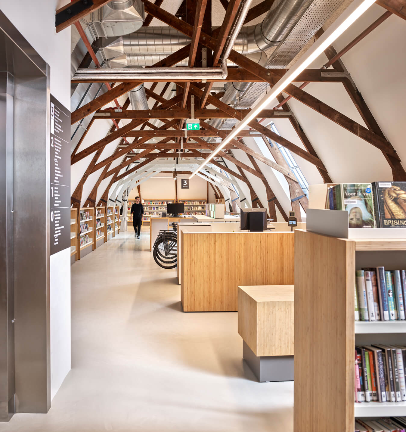 Bibliotheek Utrecht Neude 3e verdieping
