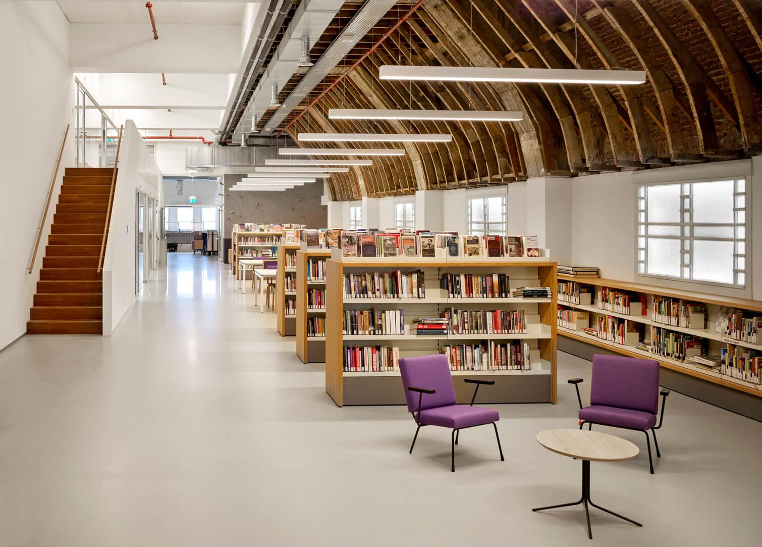 Bibliotheek Utrecht Neude uitleen