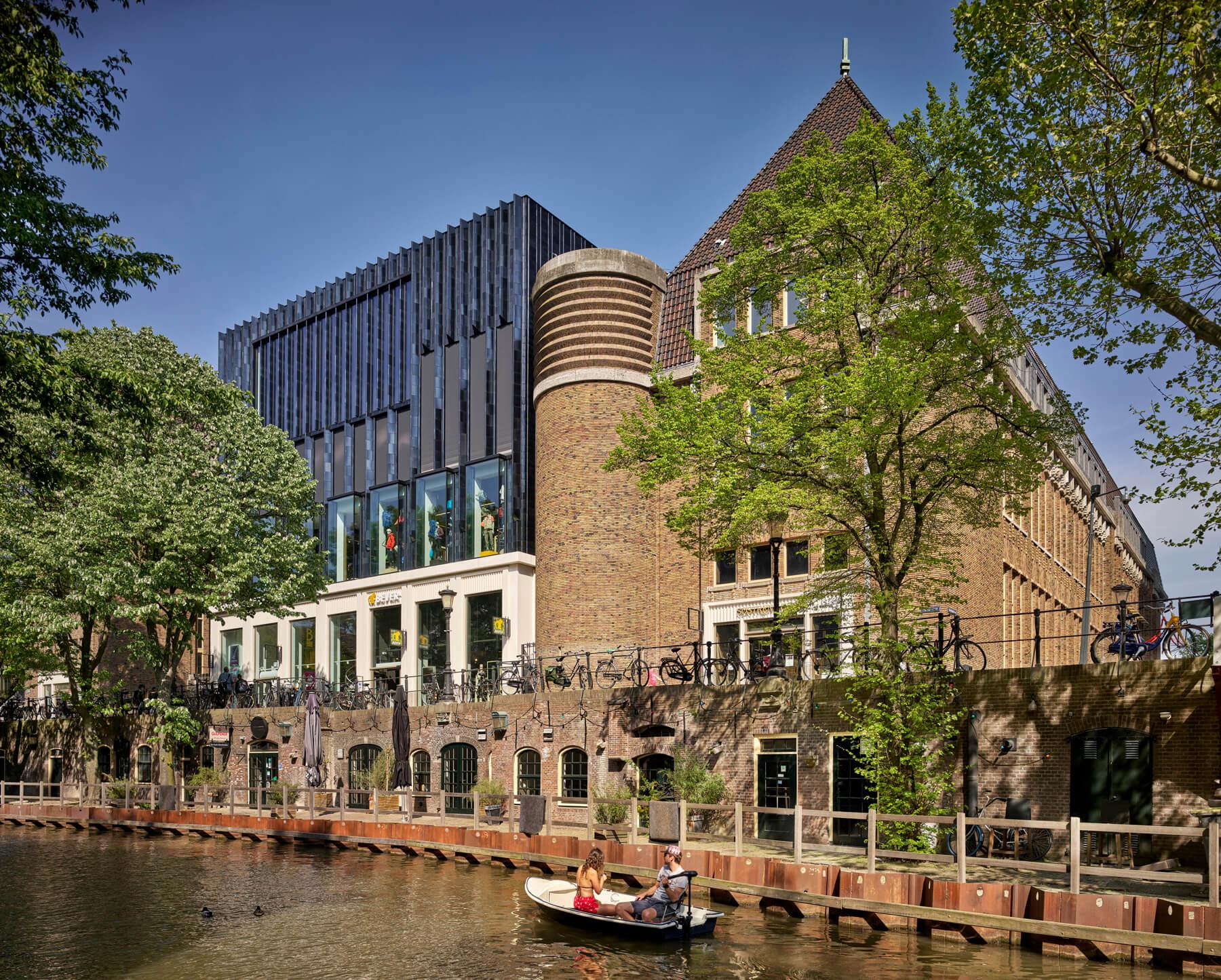 Post  Utrecht Neude Oudegracht
