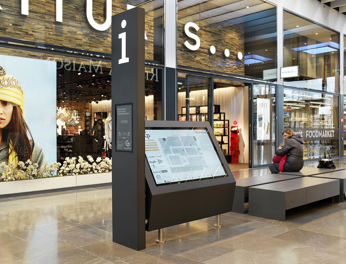 Winkelcentrum Gelderlandplein Elementhotel Amsterdam infozuil