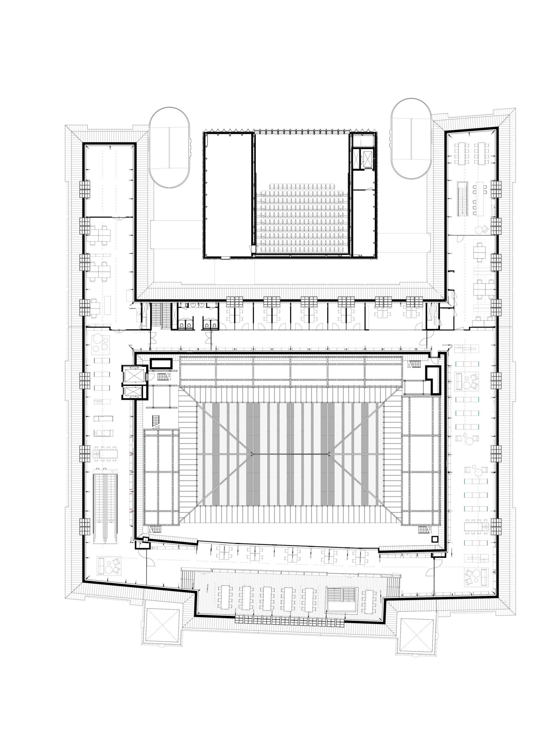 ZECC-RIJNBOUTT-Bibliotheek Utrecht-plattegrond 3e-alleen voor digitaal gebruik