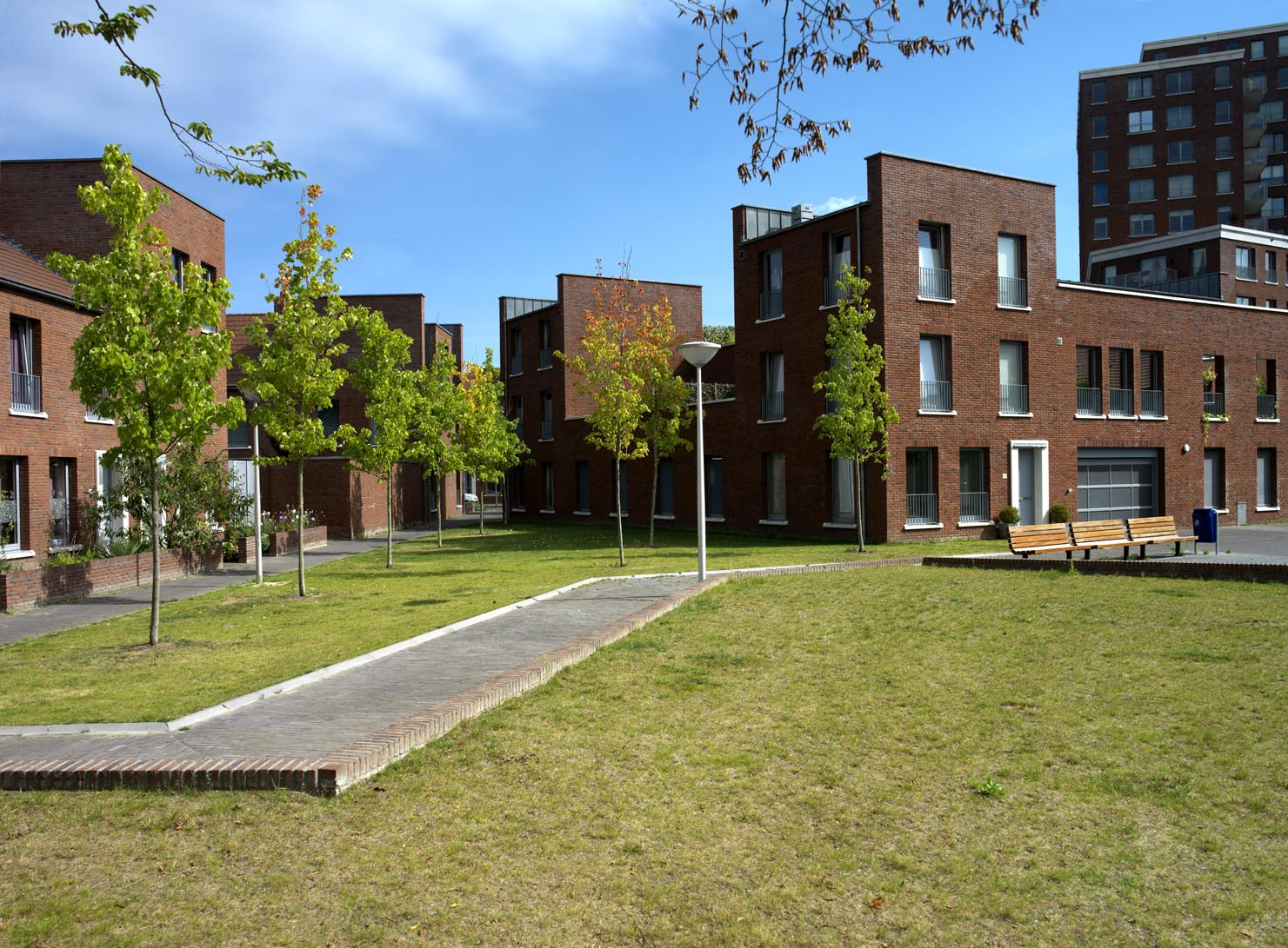 Kruidenbuurt Eindhoven autovrij binnengebied