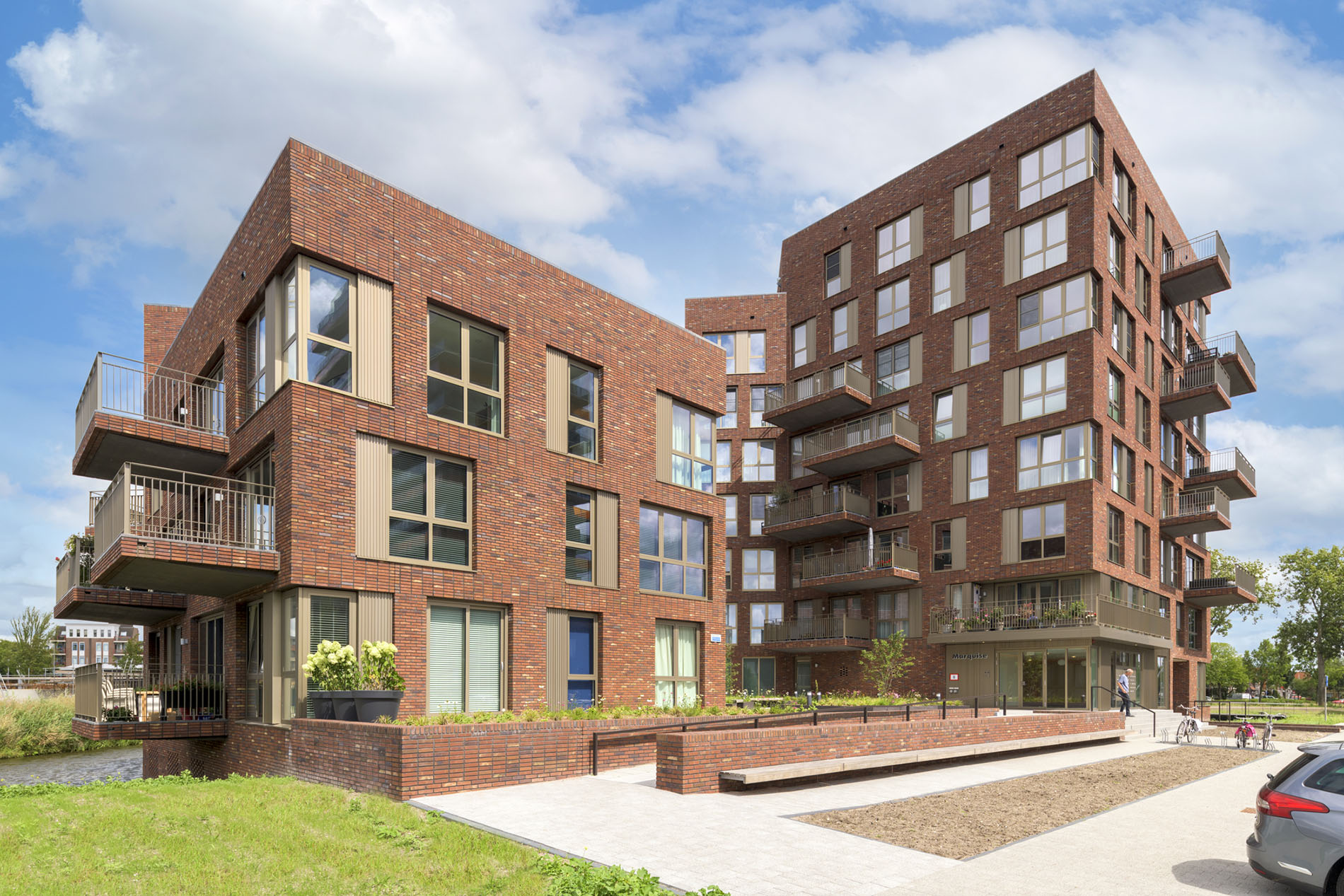 Marquise Purmerend appartementencomplex