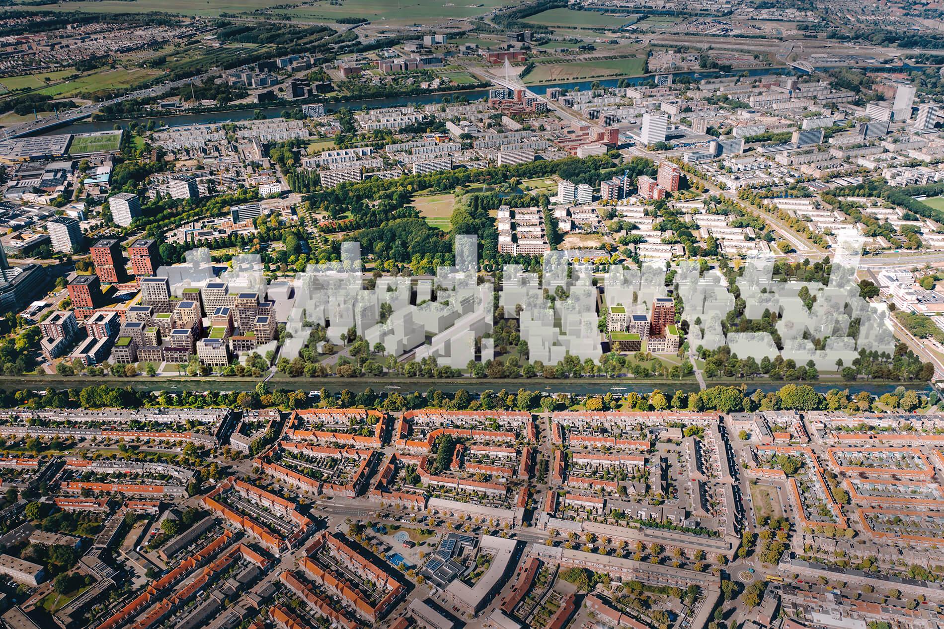 Merwede - Utrecht - Rijnboutt - Bird's-eye view