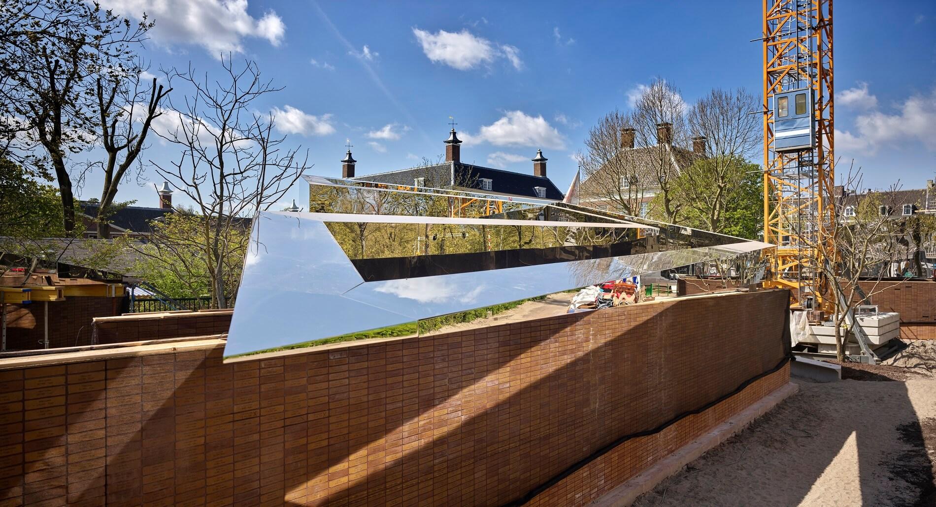 Holocaust Namenmonument Amsterdam in aanbouw - Rijnboutt 5
